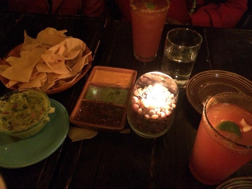 Tacos, Ceviche, Mischelada....